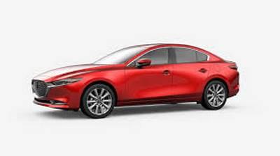 Red Mazda 3